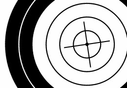 The difference between accuracy and precision in target shooting